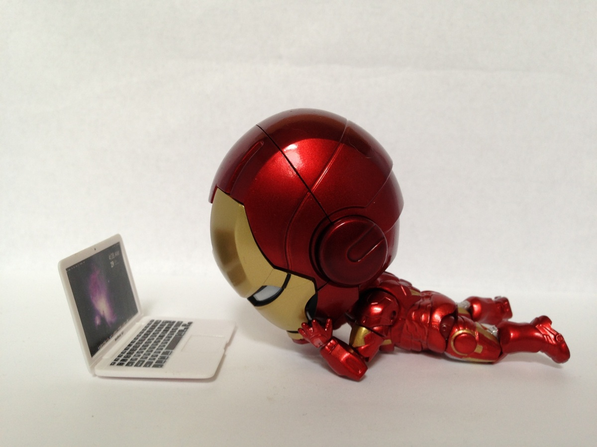 Mini ironman simple splashy - Mini iron man ...